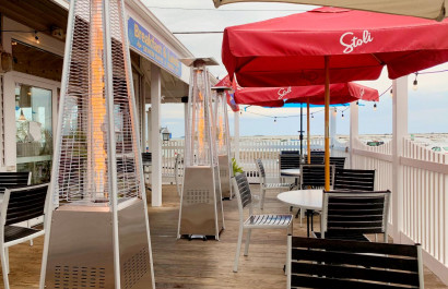 South Shore & Upper Cape Restaurants with HEATED Outdoor Dining