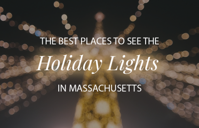 The Best Places To See The Holiday Lights in MA