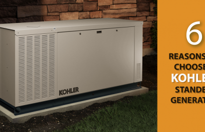 6 Reasons to Choose a Kohler Standby Generator