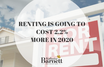 Renting is going to cost 2.2% more in 2020