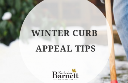Top 5 winter curb appeal tips