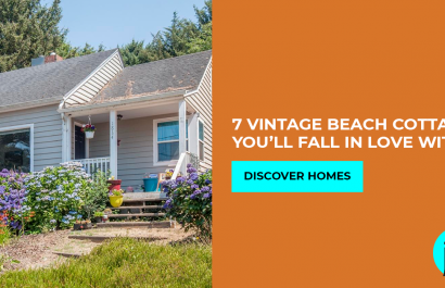 Nothing says character like a Vintage Beach Cottages.